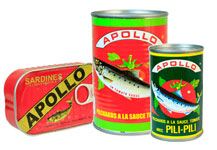 Apollo sardines and Pilchards