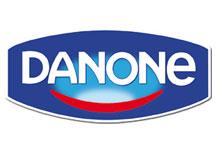 Danone yoghurts