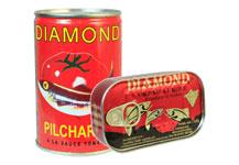 Diamond sardines and Pilchards